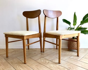 midcentury modern chairs modern house mcm teak chair mid century modern solid wood woven fabric seat accent wooden side chairs dining available century modern chair etsy