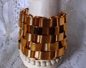 Vintage Large Chain Link Bracelet