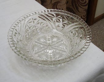 Vintage Stars and Bars 10.5 inch Serving Bowl
