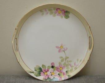Vintage Hand Painted Nippon Plate