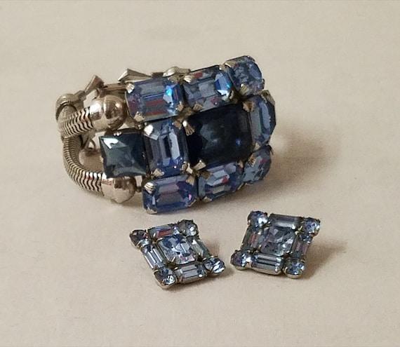 1950's Rare Dior Bracelet & Earring Set