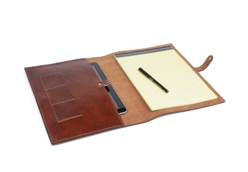 Leather iPad accessory  Leather iPad case  iPad Cover image 0