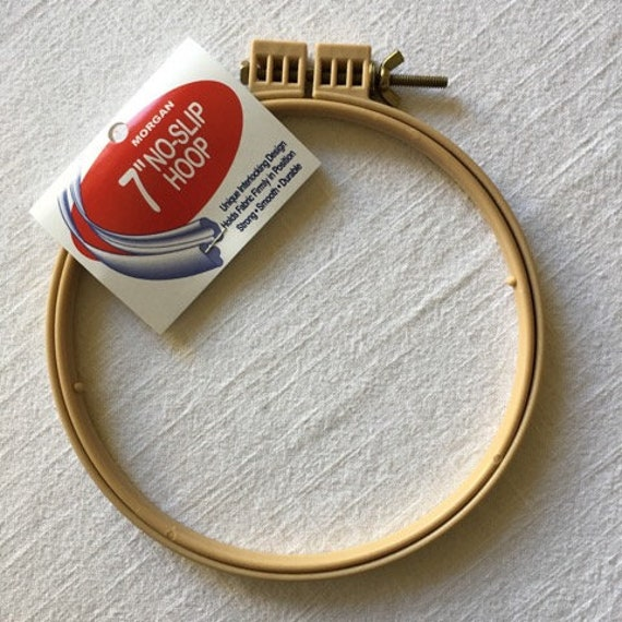 10 Inch No-Slip Embroidery Hoop Interlocking Tongue and Groove Design