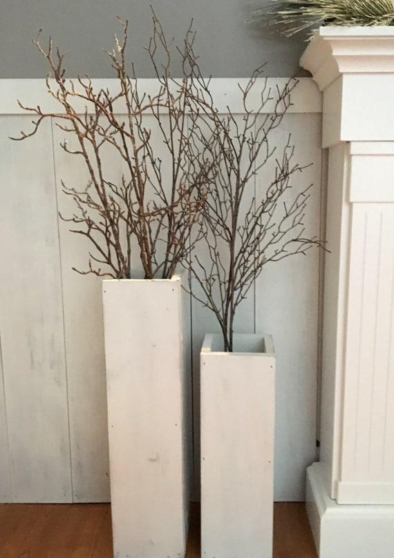 image 0 - Wooden Floor Vase