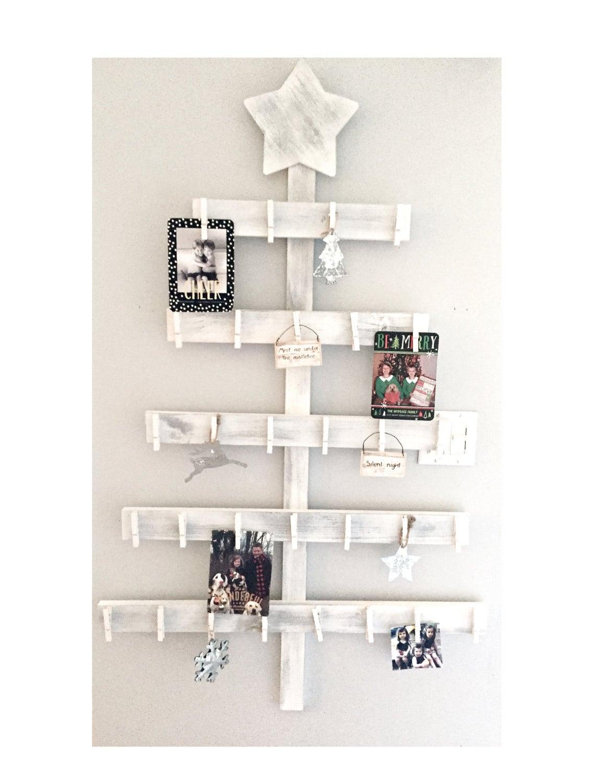Christmas card holder advent calendar tree card holder | Etsy