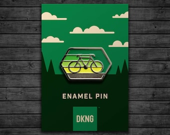 Cyclist Enamel Pin