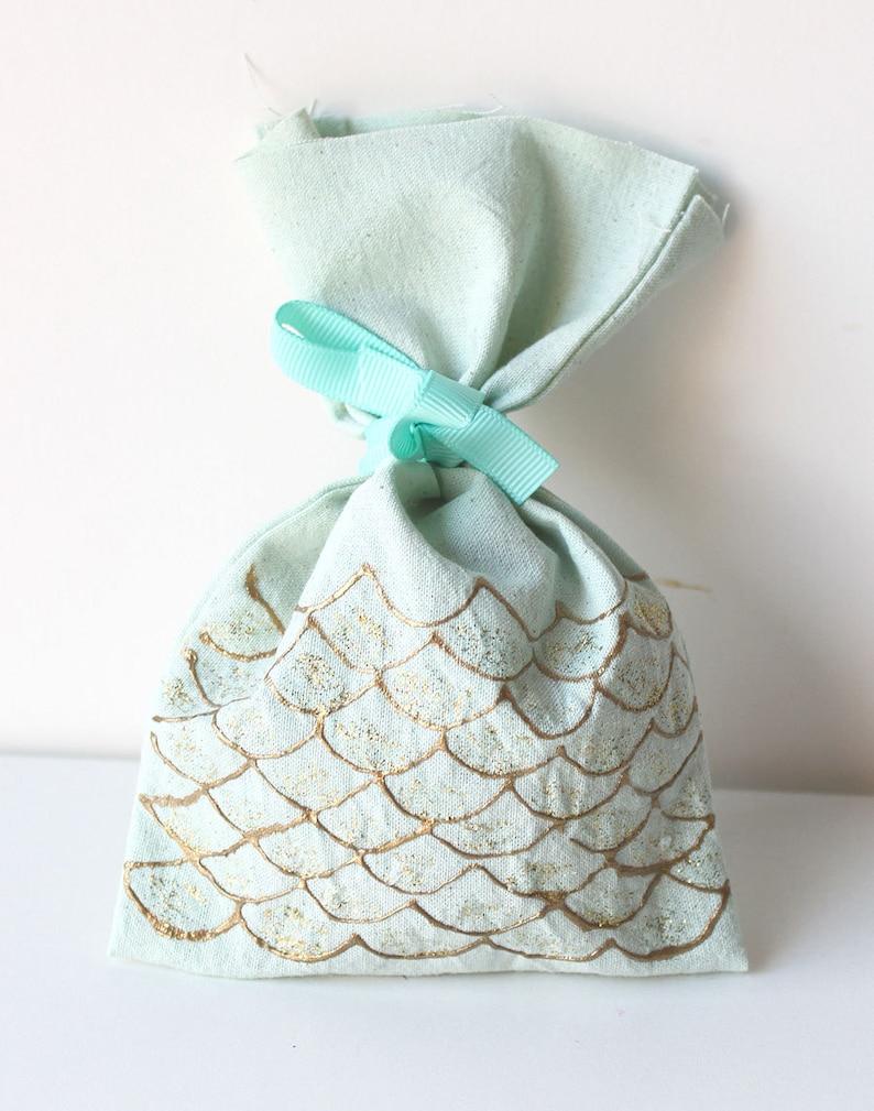 MERMAID favour bags. Mermaid gift bags Under the sea little image 0