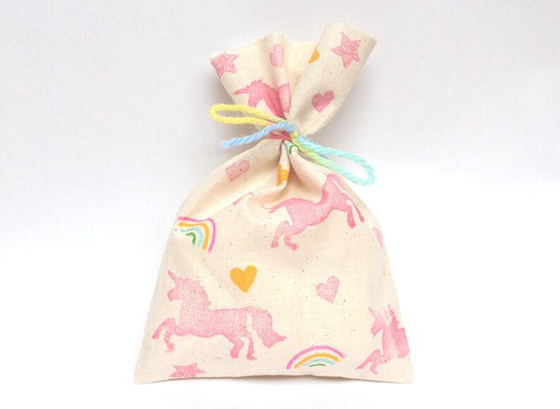 UNICORN Favour Bags  Unicorn party bags rainbow unicorn image 0