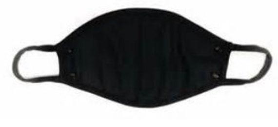 solid knit mask-no logo
