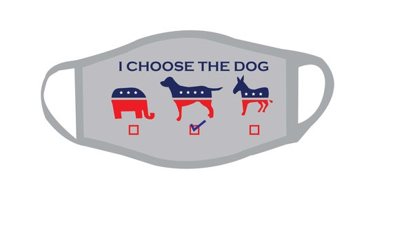 Cast your VOTE Voting Face Mask for Adult , Patriotic Cotton Face Mask, Reusable and Reversible