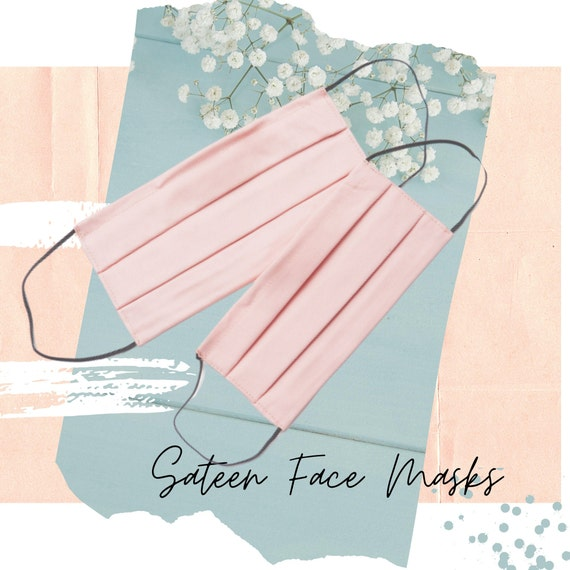Face Mask with Pocket for filter | Mask with Pleats and wire for nose | Washable and Durable Cotton Mask