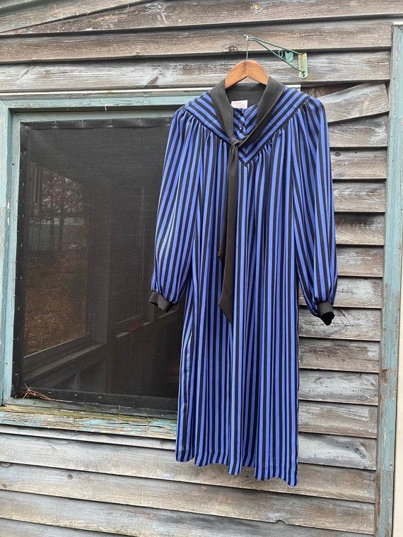 70s do the 30s smock dress, medium (585d)