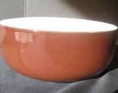 Retro Arabia Finel Enameled Bowl, Kaj Franc, chocolate brown, midcentury modern, 1960s enamel, on Etsy by TheRetroLife