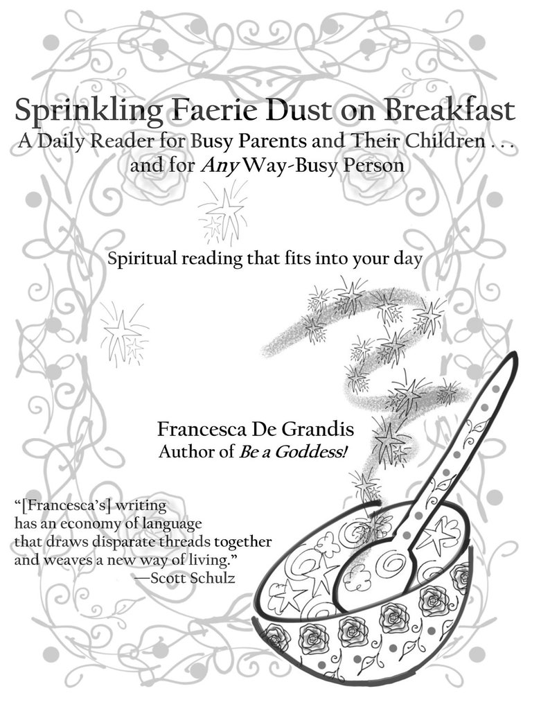 Sprinkling Faerie Dust on Breakfast image 0