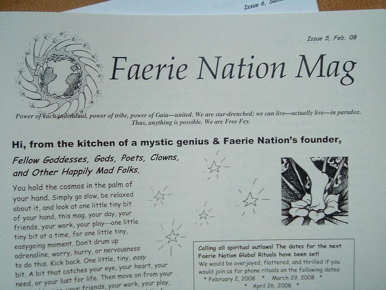 Faerie Nation Mag image 0