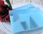 Honeysuckle Rain Soap Made With Goats Milk - Glycerin Soap - Handmade Soap - Spring - Artisan Soap - SoapGarden Soap Shop