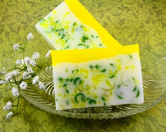 Spring Fresh Tulip Soap Made with Shea Butter - Glycerin Soap - Handmade Soap - Easter Soap - Artisan Soap - Tulip Scented Soap - SoapGarden
