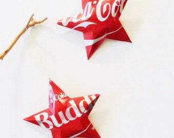 Bro, Buddy Bros Coke, Coke Zero Stars Christmas Ornaments      Coca Cola