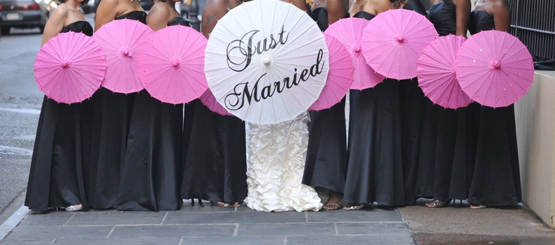 Parasols Wedding Props