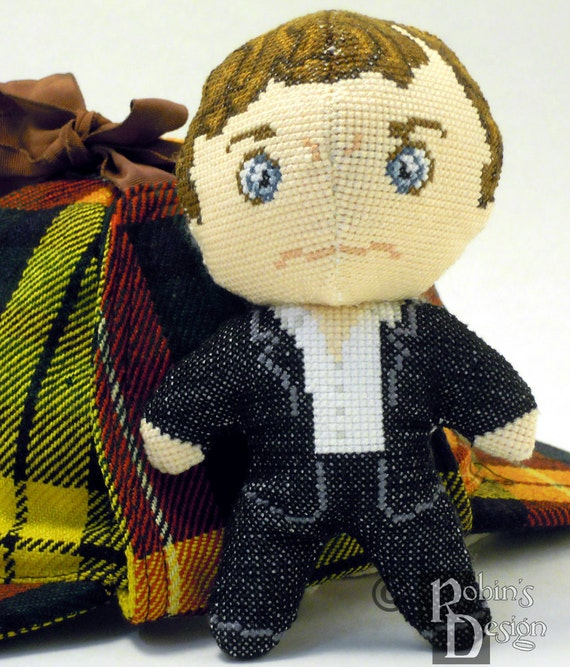 Tyrion Doll 3D Cross Stitch Sewing Pattern PDF