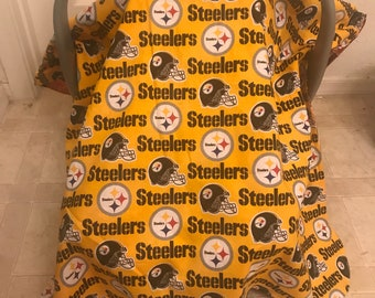 Pittsburgh Steelers Baby - Car Seat Canopy - Car Seat Cover f849c1461