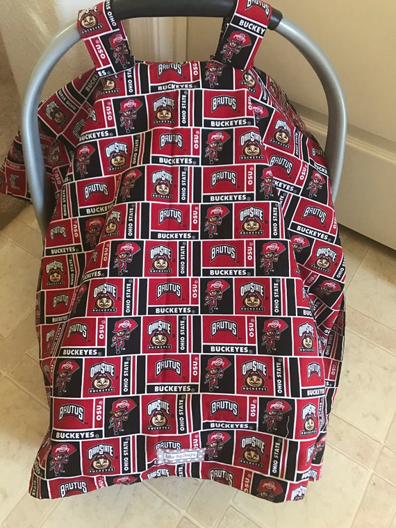 OSU Baby Car Seat Canopy Cover Ohio State