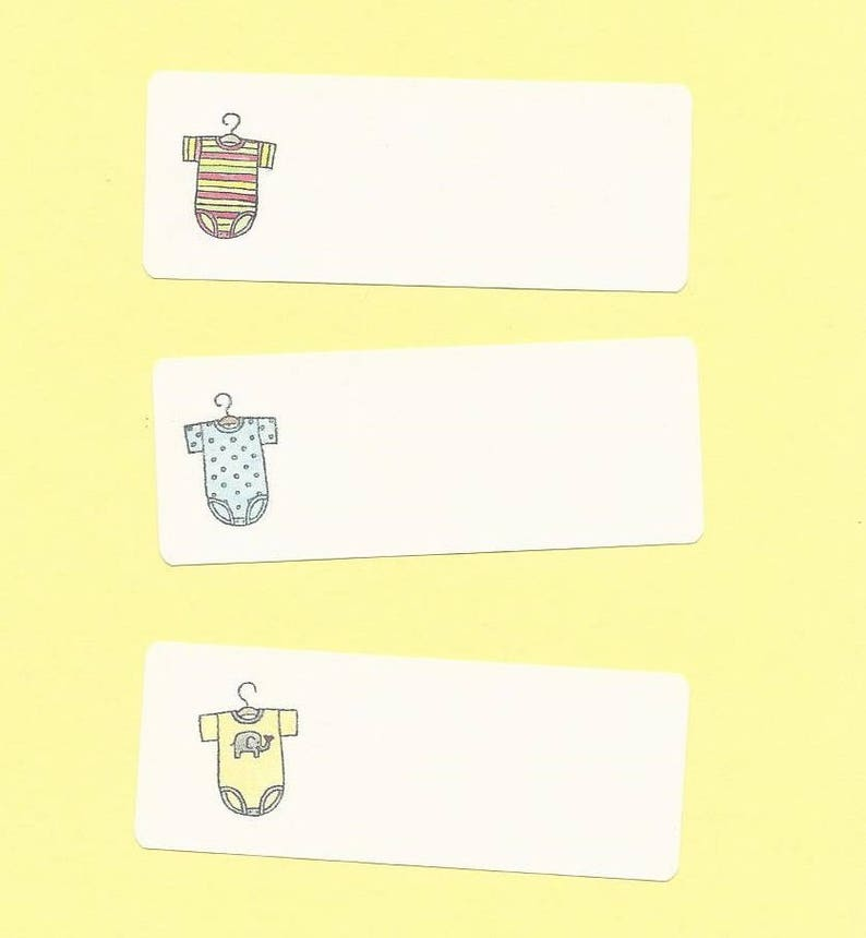 Baby Gifts Labels Baby Shower Games Labels Gifts Galore ADD ON ITEM Baby Shower Game Stickers Baby Onesie Labels Baby Shower Stickers