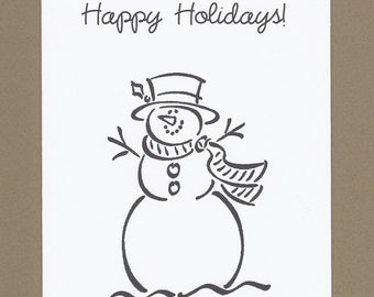 Color Your Own Christmas Card Worksheet Coloring Pages - Christmas card templates to color