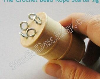Tool Kit and Tutorial/CD - Crochet Bead Rope Starter Kit