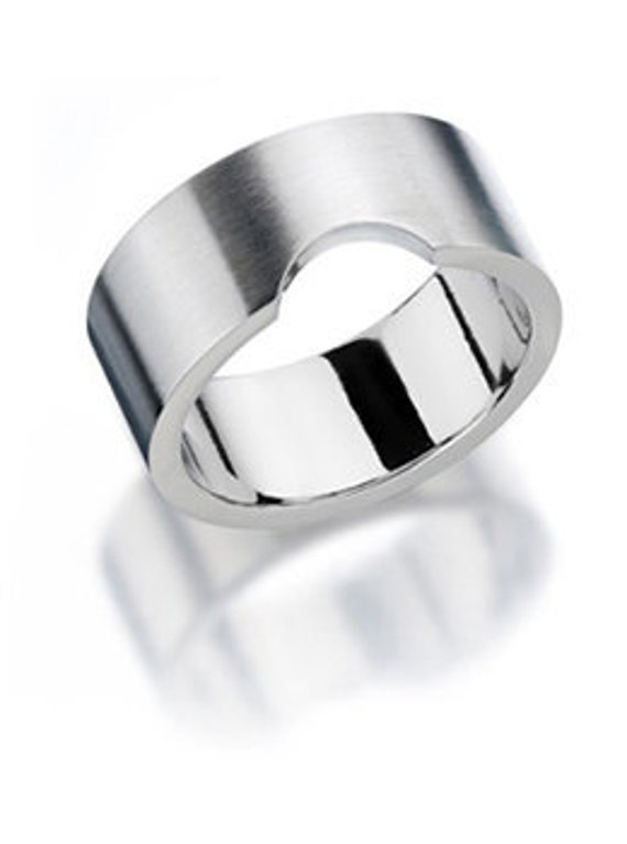 Noto C Man Ring Stainless Steel