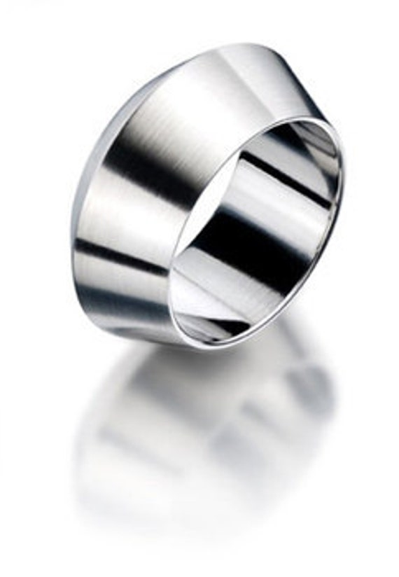 Pozzallo Man Ring Stainless Steel