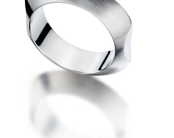 Giarre Unisex Ring Stainless Steel by Merola