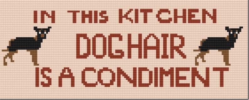 Dogs Declaration Cross Stitch Chart