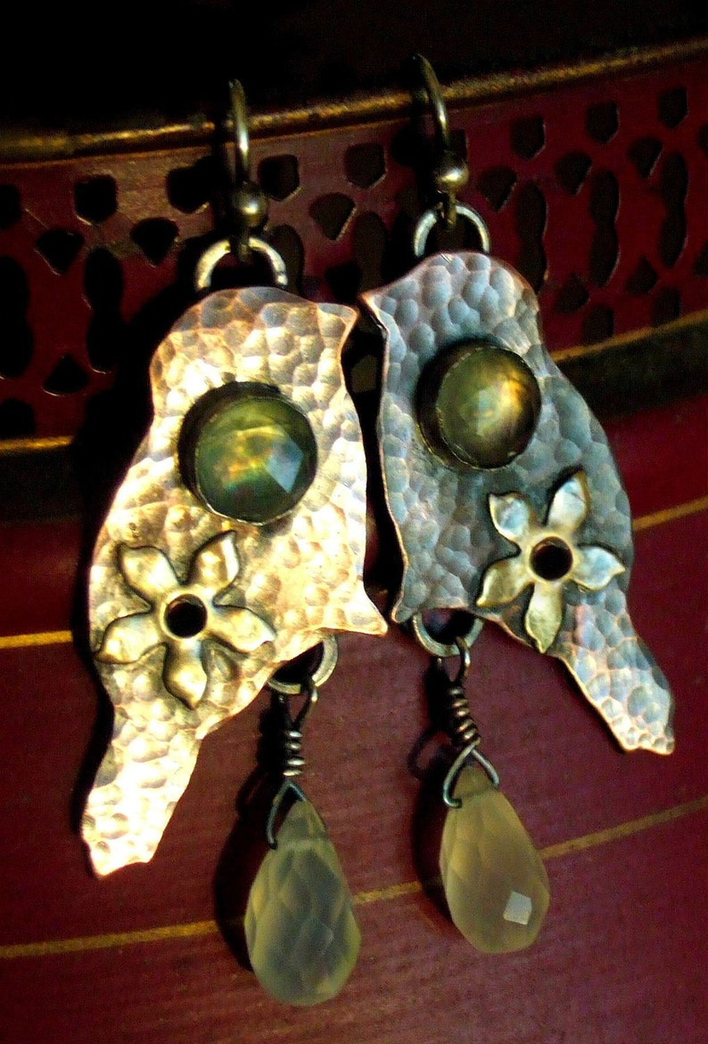 Bloom Where You Are Planted Earrings image 0