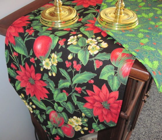 Poinsettia Table Runners Page Six