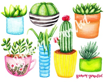 Succulent Collection Printable