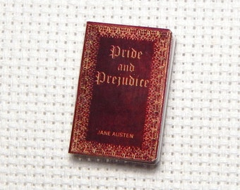 Needle Minder Miniature Book Pride and Prejudice 1 Inch