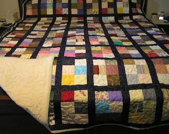 Extra long queen quilt