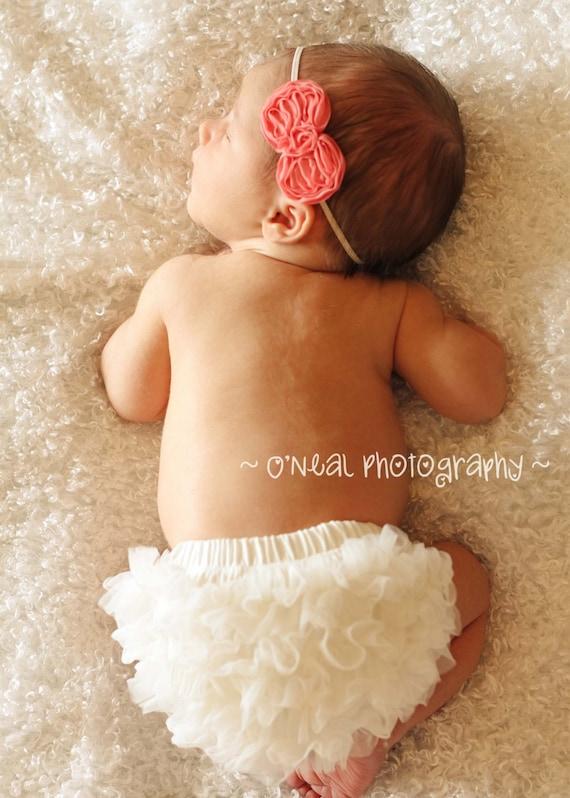 Cutie Baby Baby Girls Chiffon Bloomer Ruffles Bloomer Diaper Cover