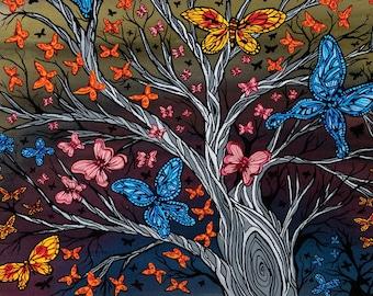 Butterflies Gicleé Print