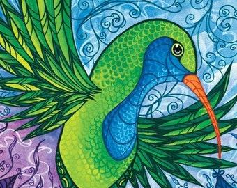 Hummingbird Print I