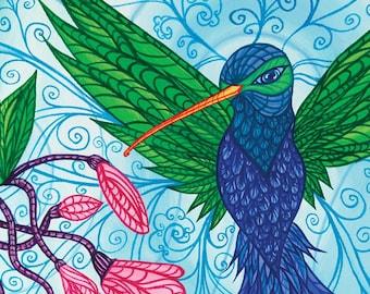 Hummingbird Print II