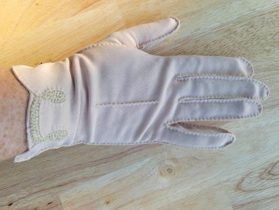 Ladies Blush Color Boyce Lazarus Gloves