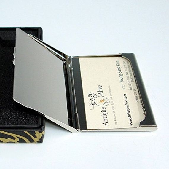 Credit /& ID Card Holder Wallet Flying Stamps Business