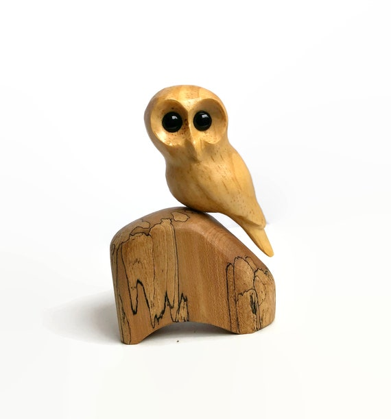 Owl wood carving,  gifts  for her, gifts for him, gifts for teen, woodland nursery decor