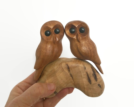 Romantic gifts for him, Owls, Christmas gifts for her, 5th anniversary