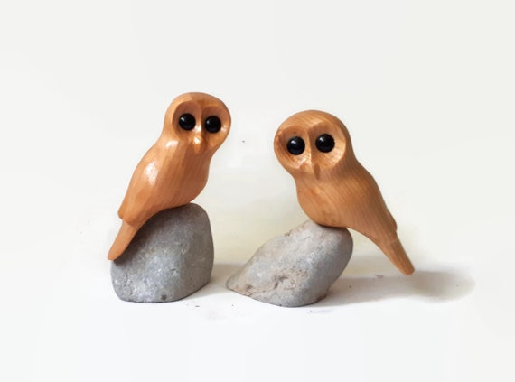 Anniversary gift for wife, 5th anniversary gift for husband, owl art, wedding gifts for couple