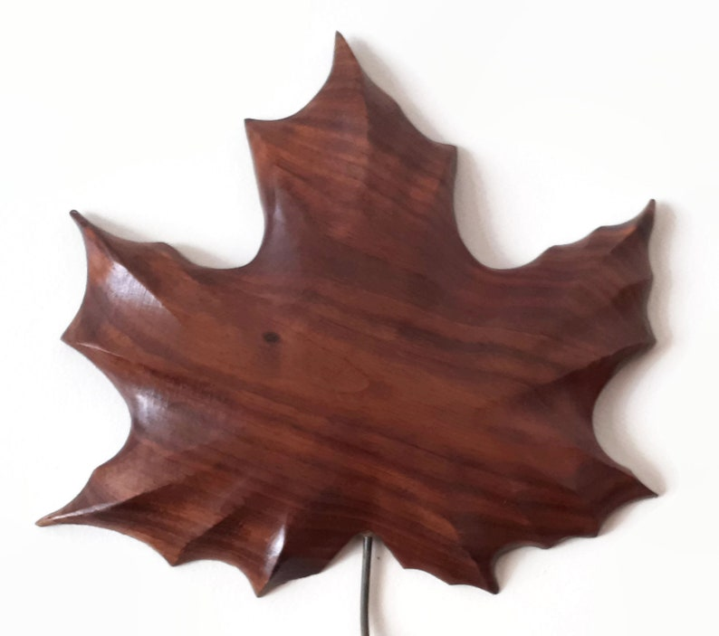 Maple leaf wood carving outdoor wall decor indoor wall etsy