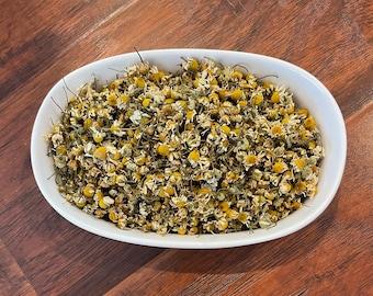 Grown in Iowa, USA - From the Farm - dried chamomile flowers - organically raised - tea - sachets