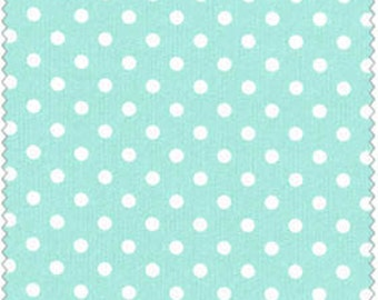 Crafty Cotton Aqua Dot Cotton Fabric 4270-2